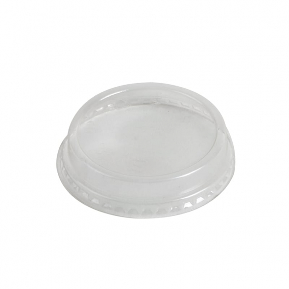 76mm Compostable Flat Lid fits 5 to 9oz