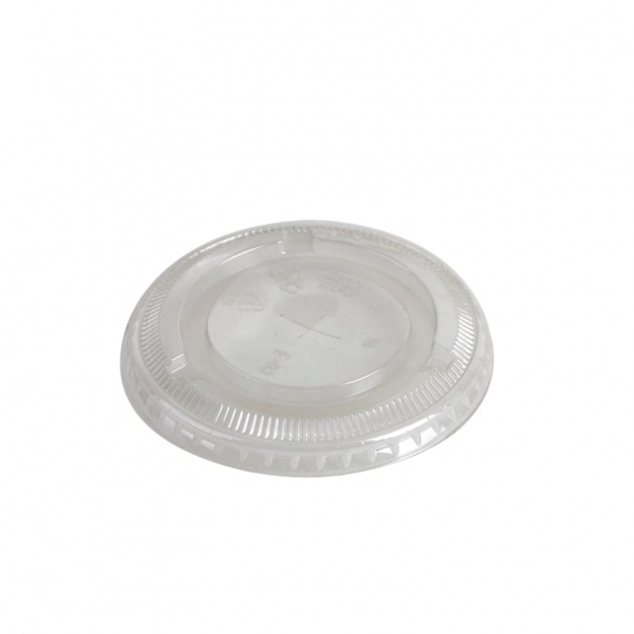 98mm Compostable Flat Lid fits 12 to 24oz