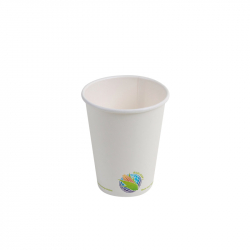 8oz Compostable Hot Paper Cup
