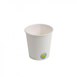 10oz Compostable Hot Paper Cup