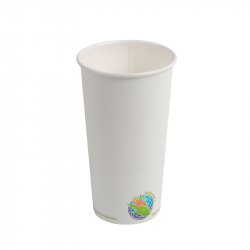 20oz Compostable Hot Paper Cup