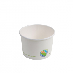16oz Compostable Paper Soup Cup