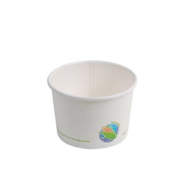 16oz Compostable Paper Soup Cup