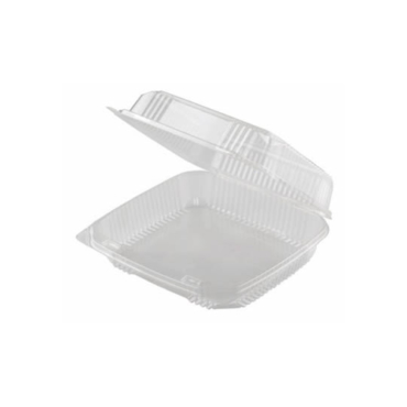 ecoware.ca 8x8x3 hinged PLA clamshell