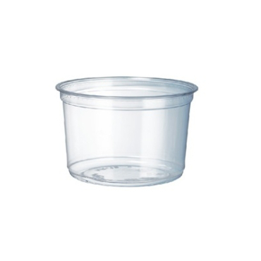 COMPOSTABLE ROUND DELI CONTAINER