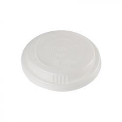 ecoware.ca 80mm compostable hot cup lid