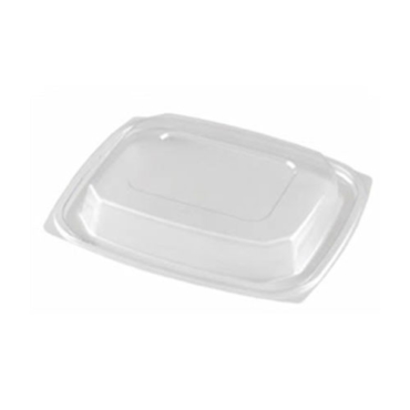 ecoware 16oz rectangular deli container dome lid