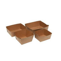 EARTH FOOD TRAYS LINED