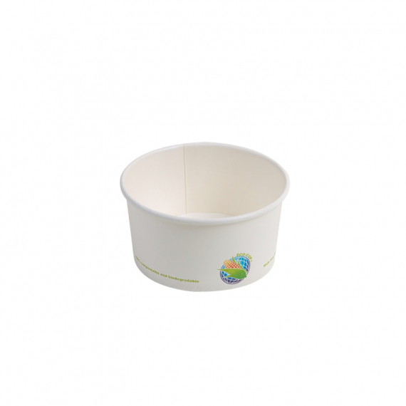 6oz Compostable Paper Soup Cup