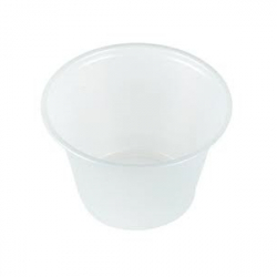 COMPOSTABLE PLA CLEAR PORTION CUPS