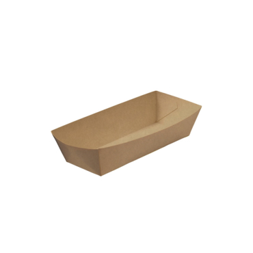 Hot Dog Paper Food Tray – uncoated