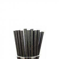 Paper Straw Black