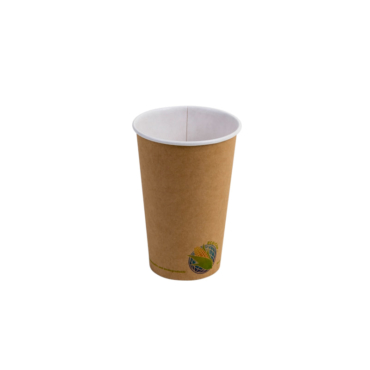 16oz Compostable Kraft Paper Cup