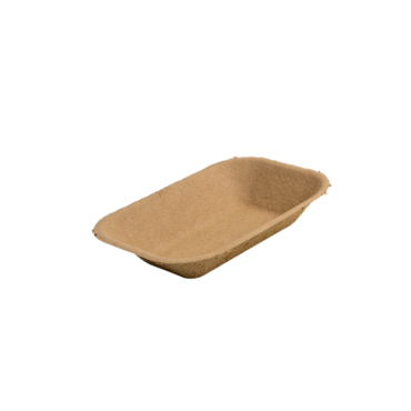 COMPOSTABLE PAPER PULP TRAYS