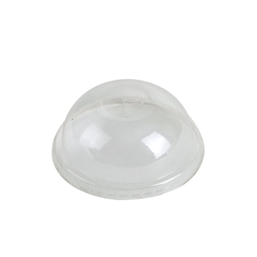 76mm Compostable dome Lid fits 5 to 9oz