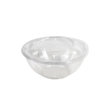 COMPOSTABLE FLORAL SALAD BOWLS