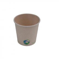 4oz Compostable Bamboo Fibre Hot Cup
