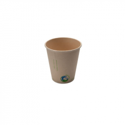 10oz Compostable Bamboo Fibre Hot Cup