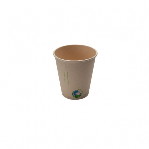 10oz Compostable Bamboo Fibre Hot Cup