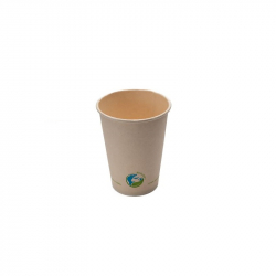 12oz Compostable Bamboo Fibre Hot Cup
