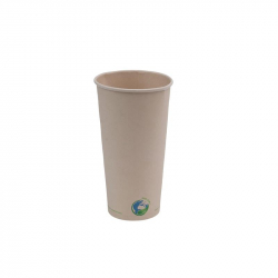 20oz Compostable Bamboo Fibre Hot Cup