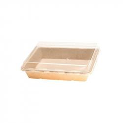 """7.75x5x1.75""""Fibre Sushi tray"""