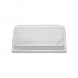 Recyclable clear lid for SH 10