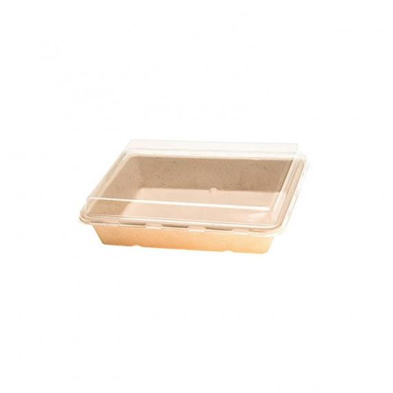 """6.5x4.5x1.75"""" Fibre Sushi tray"""