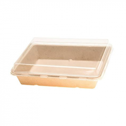 32oz Fiber Square Tray